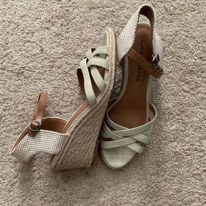 Lucky Brand wedges 🍀